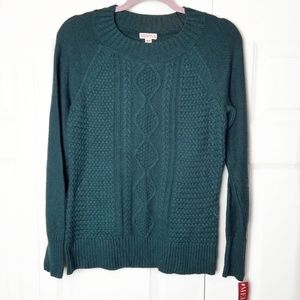 Merona | NWT Mock Neck Sweater